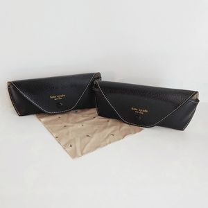 2 Kate Spade Glasses Cases with Cleaning Cloth